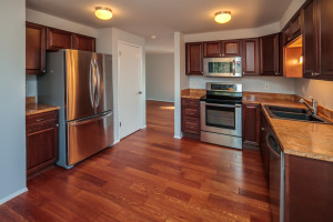 Granite, stainless, hardwood, top cabinetry and hardware plus pantry.