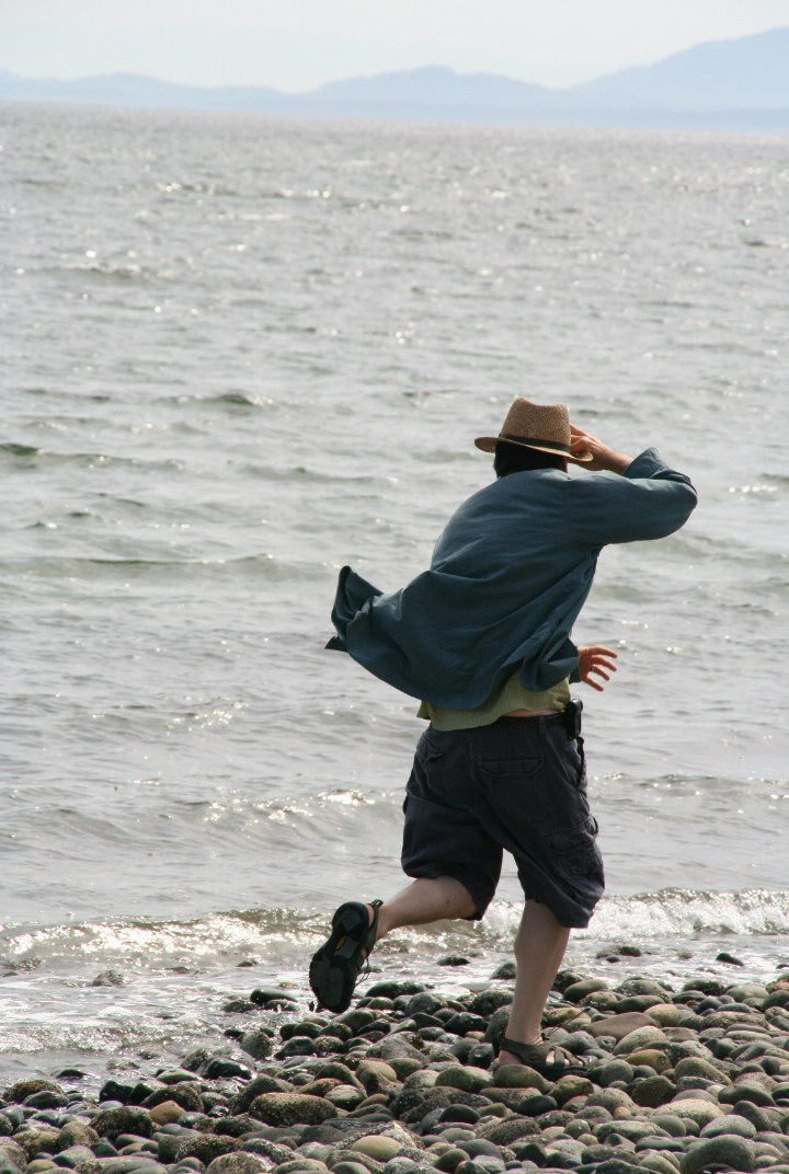 Birch Bay Rock Skipping